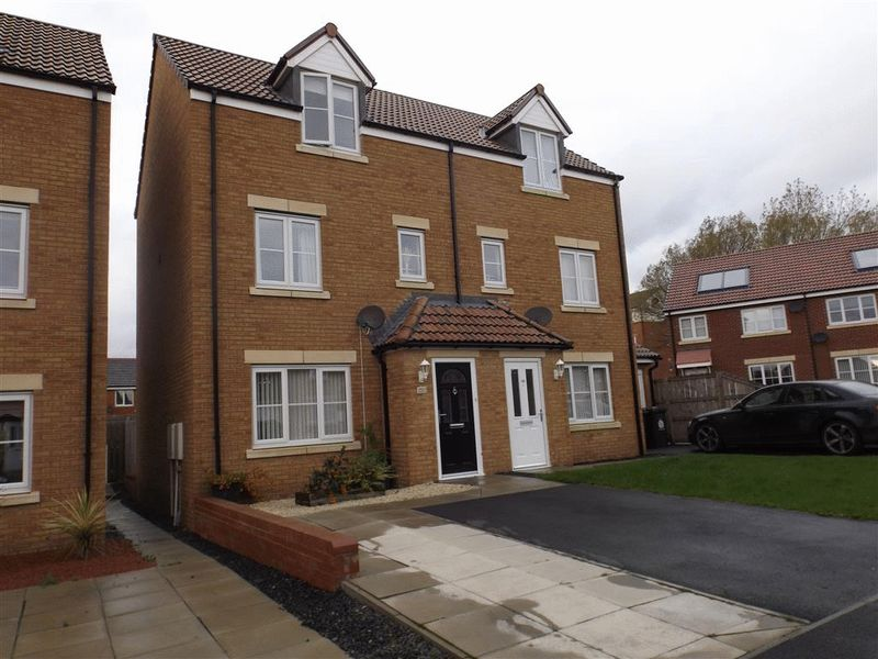 Walton Gardens, Wallsend - Three Bed Sem...