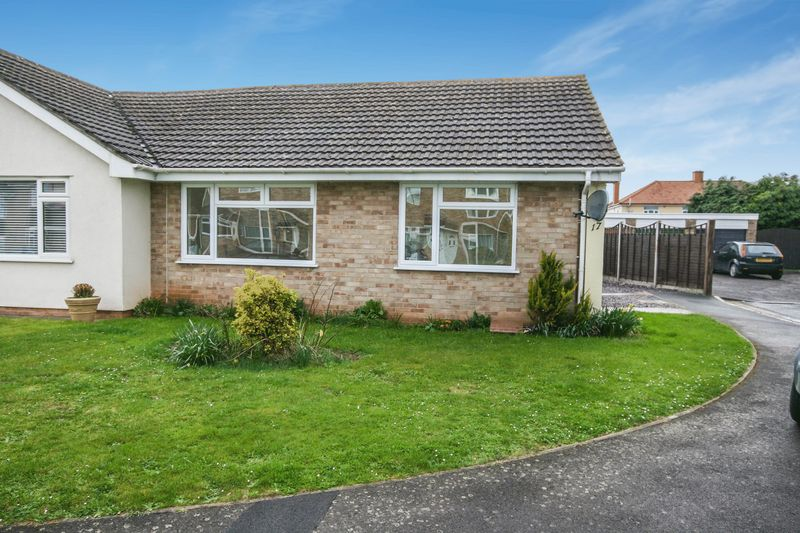 2 Bedrooms Semi Detached Bungalow for sale in Ringwood Road, Bridgwater