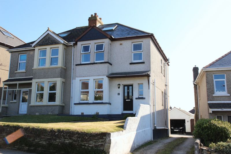 3 Bedrooms Semi Detached House for sale in Trenance Road, Newquay