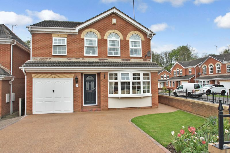 4 Bedrooms Detached House for sale in Dandy Mill View, Pontefract