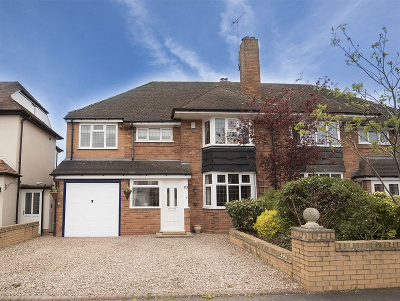 5 Bedrooms Semi Detached House for sale in Pinewoods Avenue, Hagley