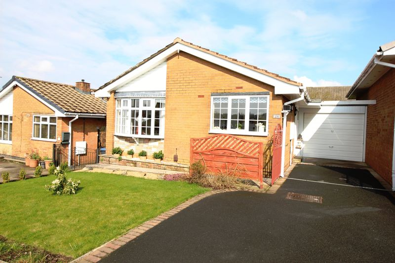 2 Bedrooms Bungalow for sale in Dart Close, Biddulph, ST8 7HG