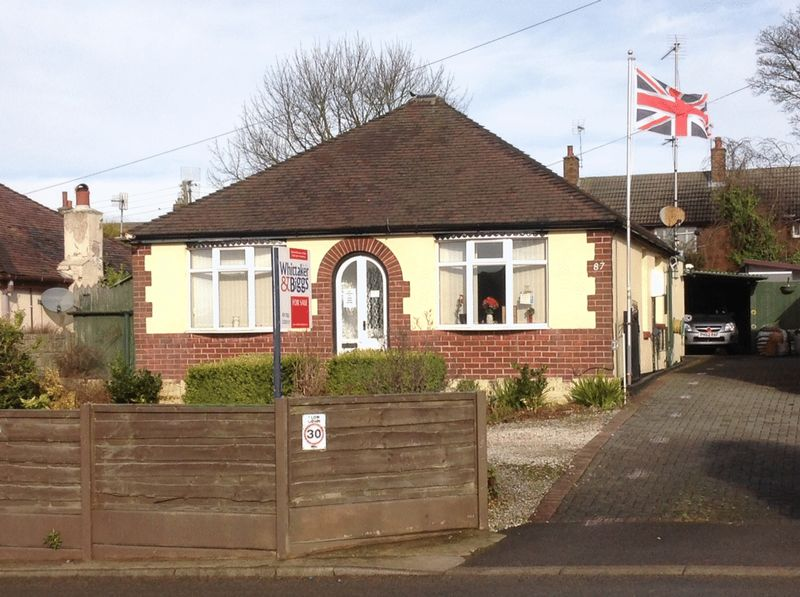2 Bedrooms Detached Bungalow for sale in Park Lane, Knypersley, Staffordshire, ST8 7BG