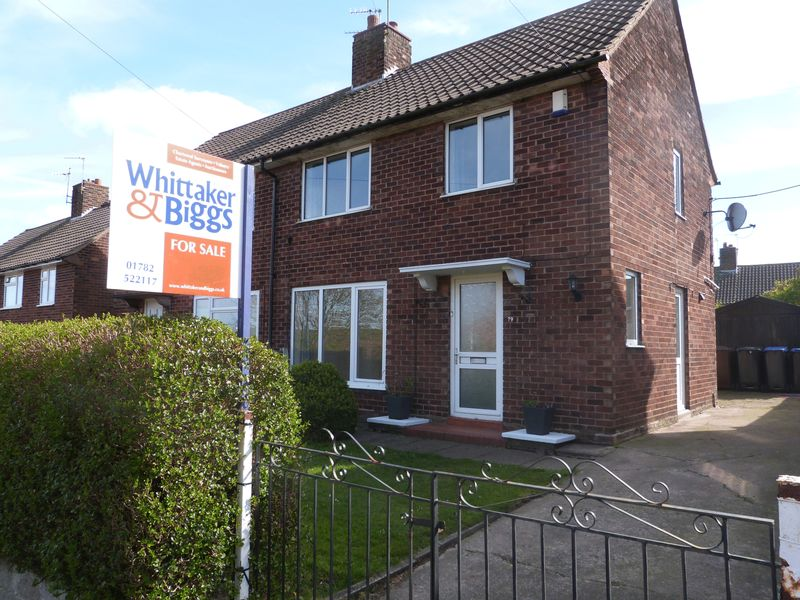 3 Bedrooms Semi Detached House for sale in Lawton Street, Biddulph, Staffordshire, ST8 6EY