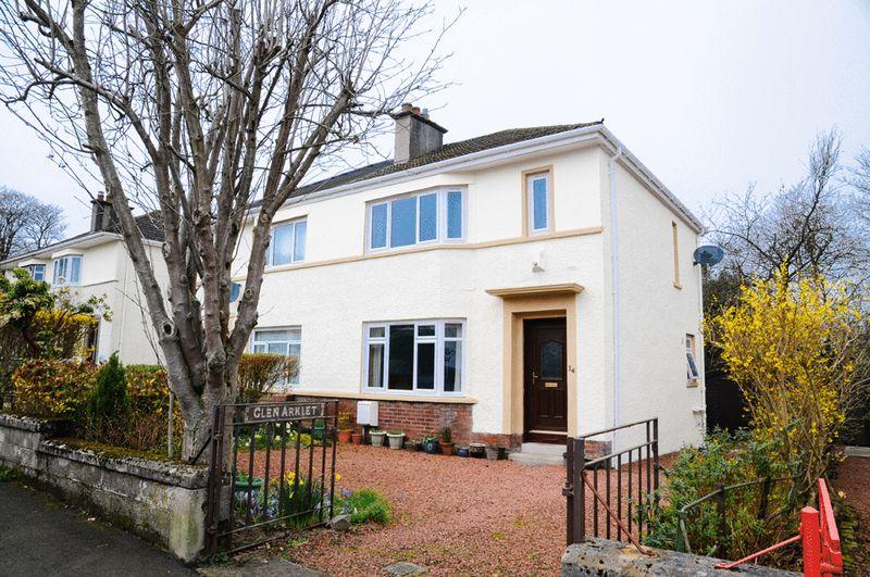 3 Bedrooms Semi Detached House for sale in Castle Avenue, Elderslie