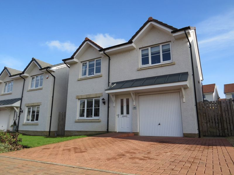 4 Bedrooms Detached House for sale in 14 Whitehouse Avenue, Gorebridge
