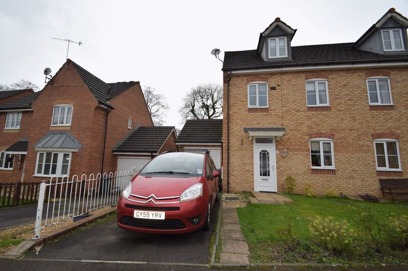 4 Bedrooms Semi Detached House for sale in 6 Mill House Court, Cwmbran, Gwent