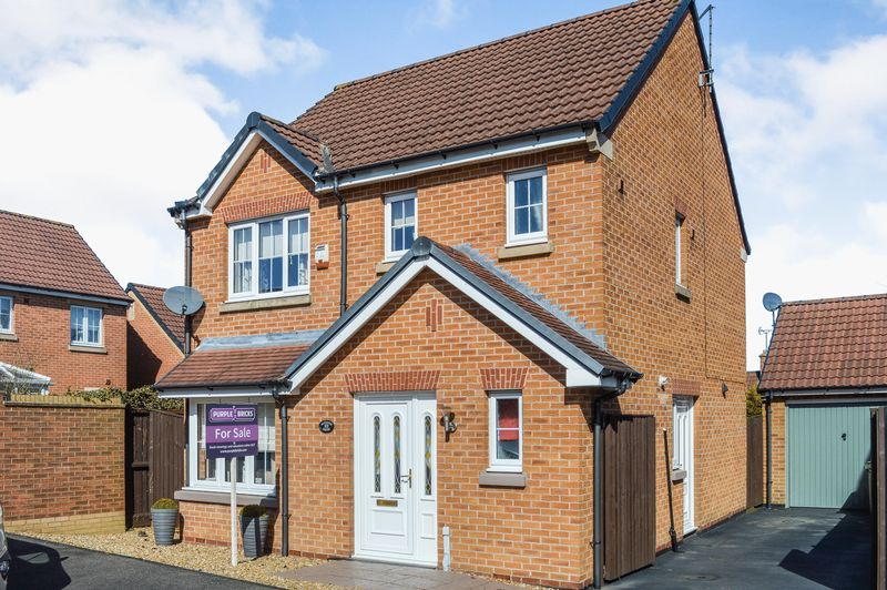 3 Bedrooms Detached House for sale in Kingfisher Road, Mansfield