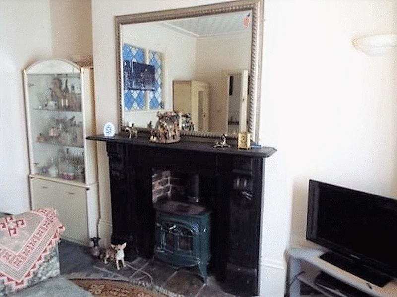 Reception Room Fireplace