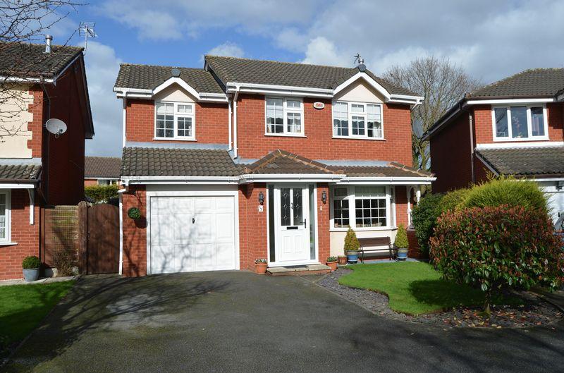 4 Bedrooms Detached House for sale in Dorchester Park, Sandymoor