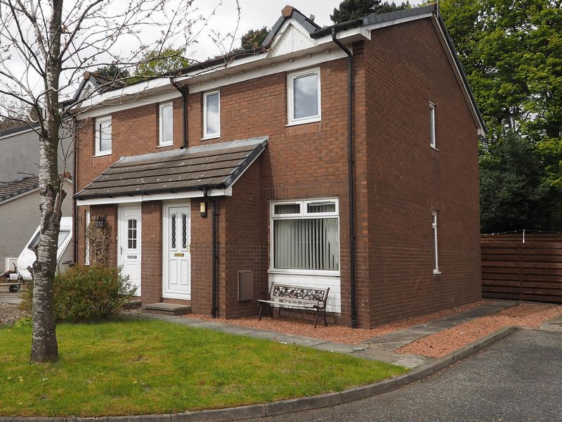 2 Bedrooms Semi Detached House for sale in Primrose Place, Livingston, EH54 6RW