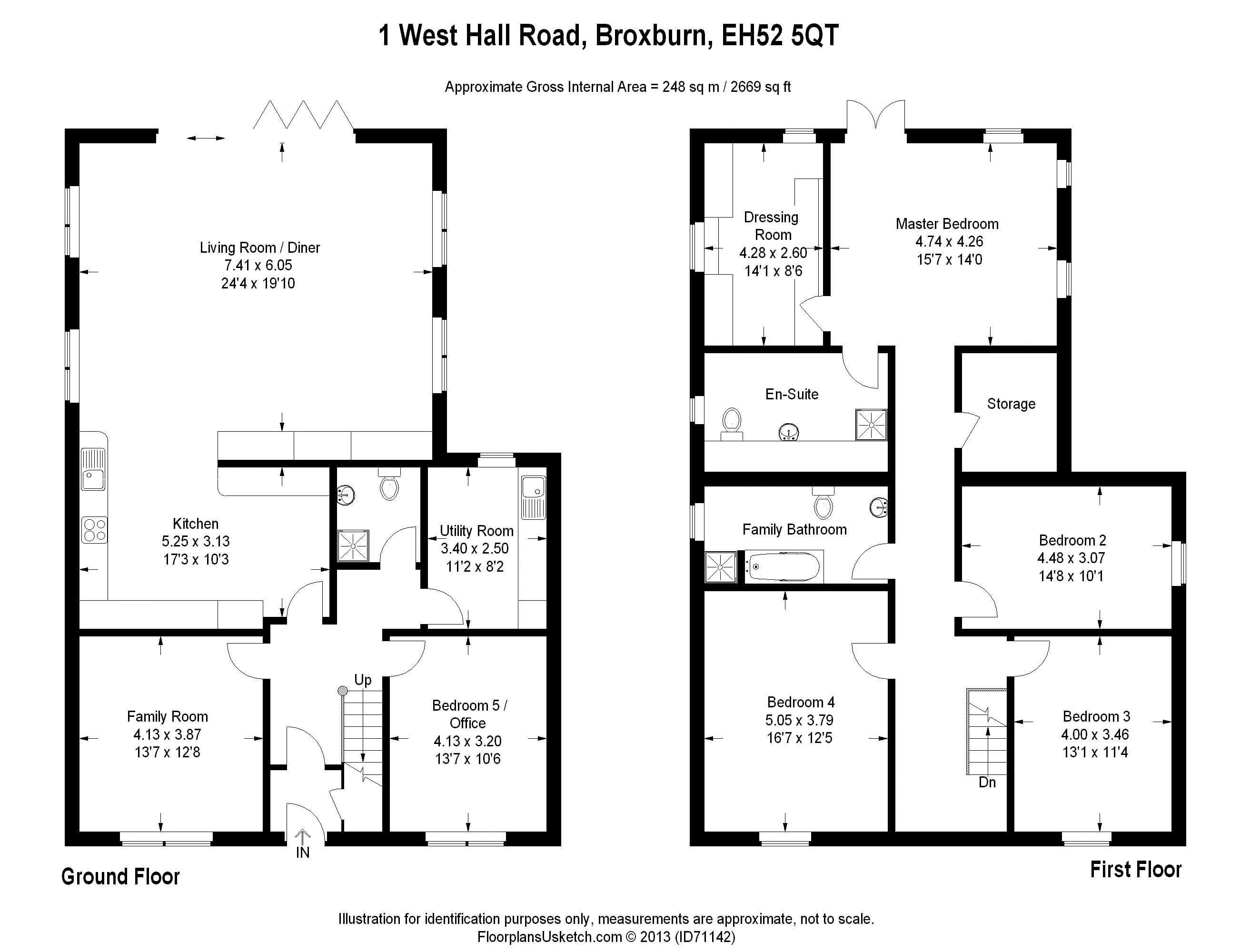 1 WHR Floor Plan