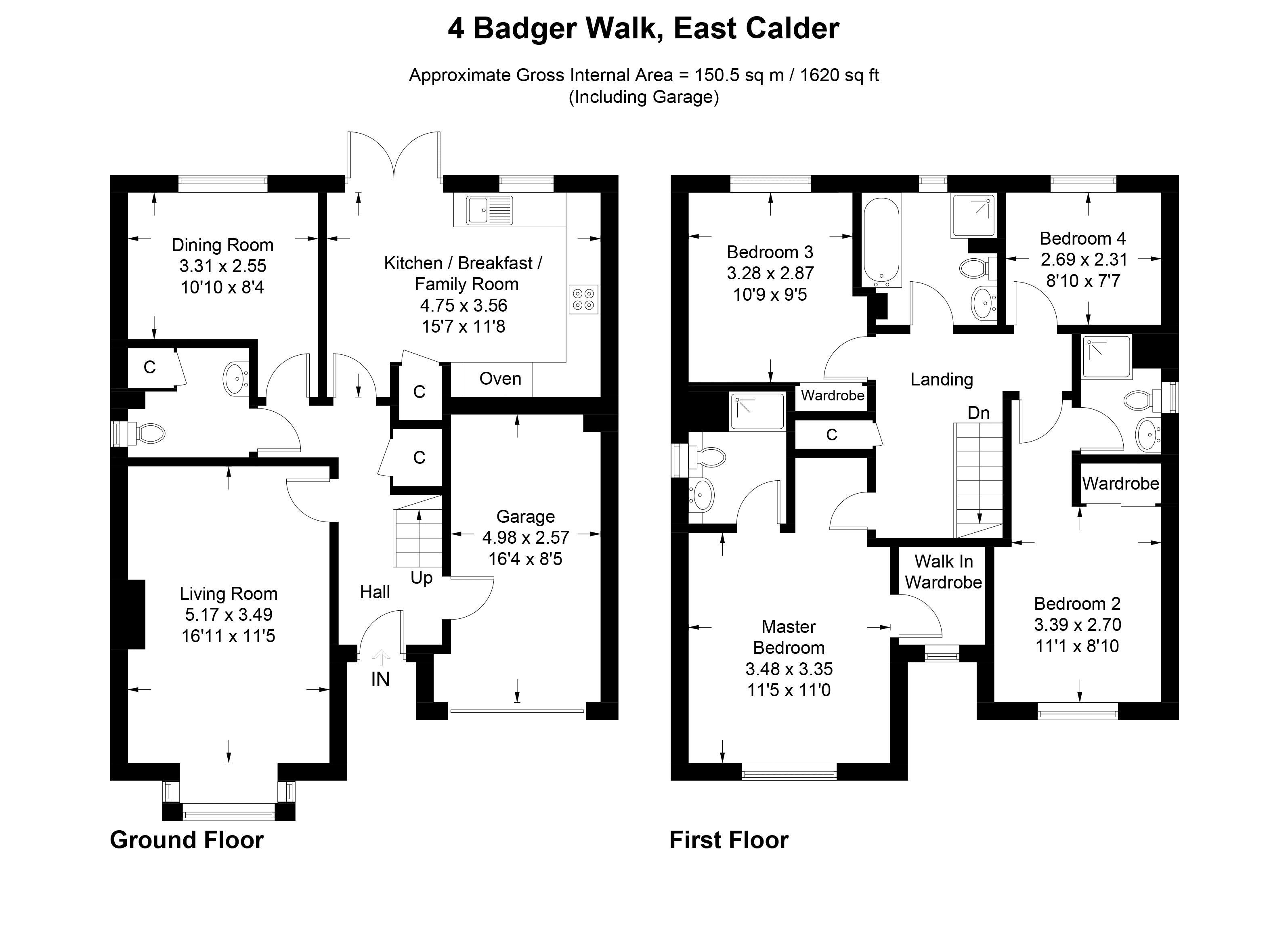 Badger Walk East Calder