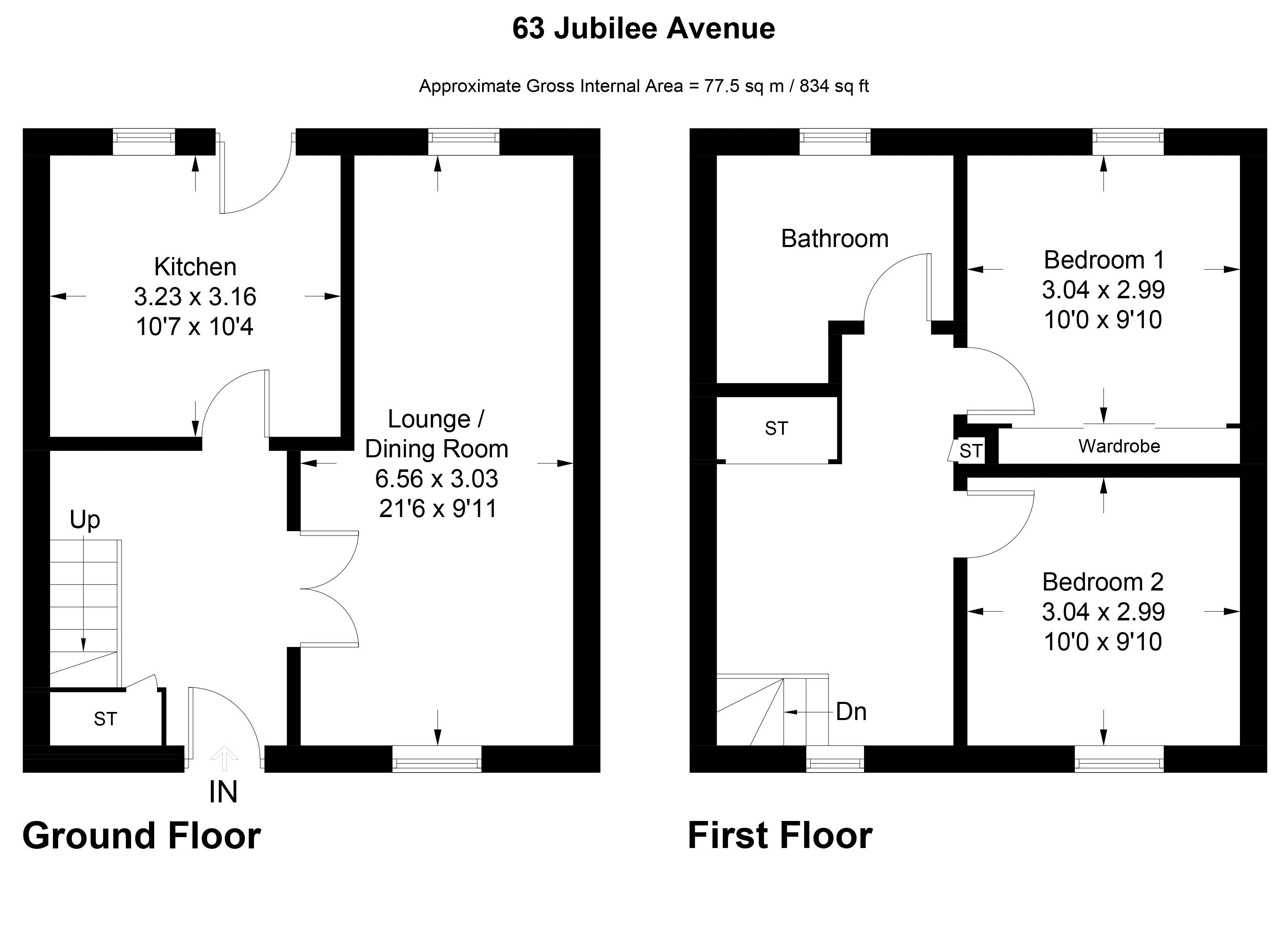 Jubilee Avenue Deans