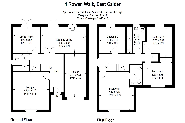 Rowan Walk East Calder