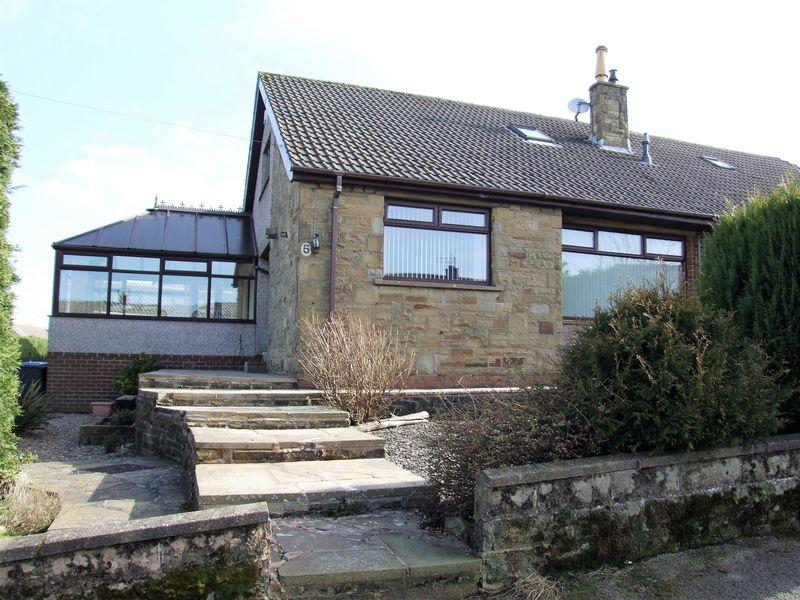 3 Bedrooms Semi Detached House for sale in Ogden Lane, Denholme