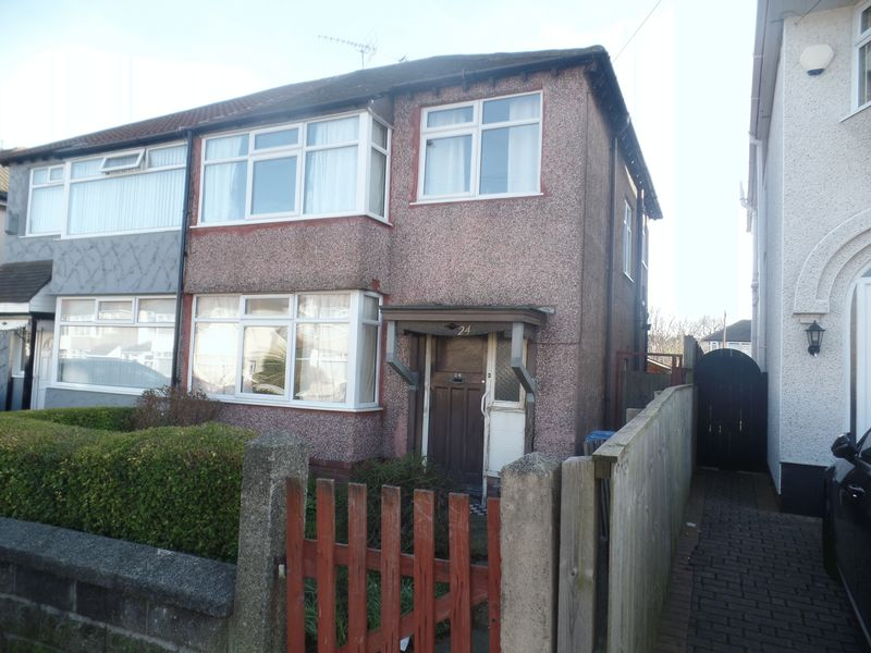 3 Bedrooms House for sale in 24 Jeffereys Crescent, Liverpool