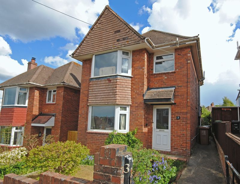 3 Bedrooms Detached House for sale in Vuefield Hill, Exeter