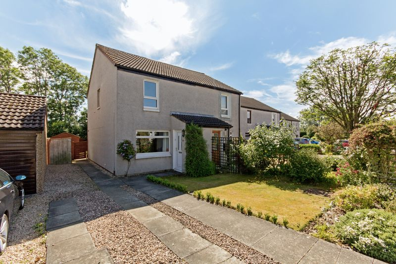 2 Bedrooms Semi Detached House for sale in 22 Burghmuir Court, Linlithgow