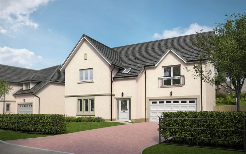 5 Bedrooms Detached House for sale in The Livingston, Friars Way, Linlithgow