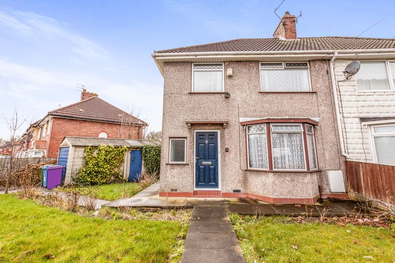 3 Bedrooms Semi Detached House for sale in Fairmead Road, Liverpool, Merseyside, L11