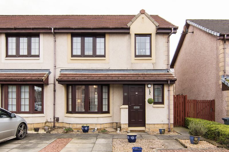 3 Bedrooms Semi Detached House for sale in 32 Alcorn Square, Wester Hailes, Edinburgh, EH14 3GA