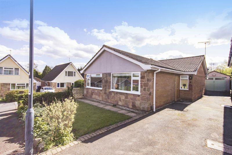 2 Bedrooms Detached Bungalow for sale in FOUNTAINS CLOSE, ALLESTREE