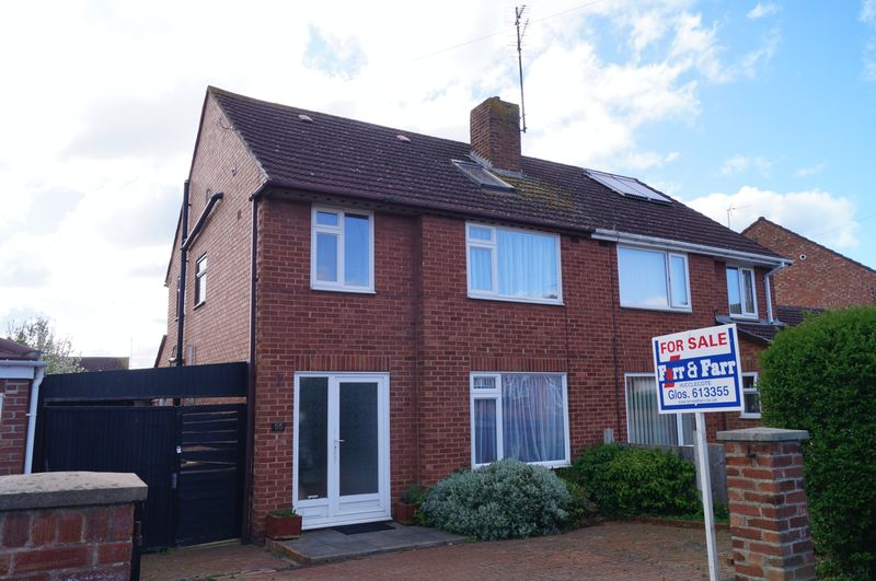 4 Bedrooms Semi Detached House for sale in Lynton Road, Hucclecote, Gloucester