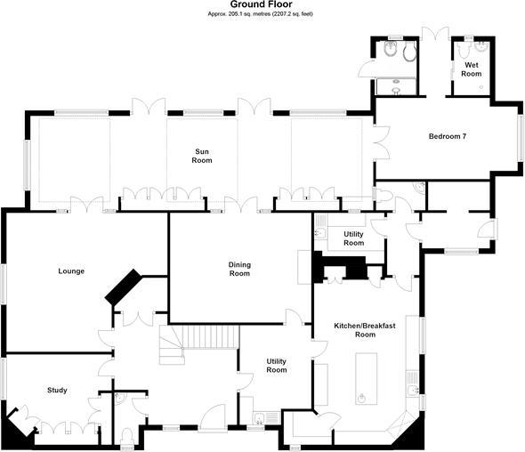 Oakwood Manor ground floor