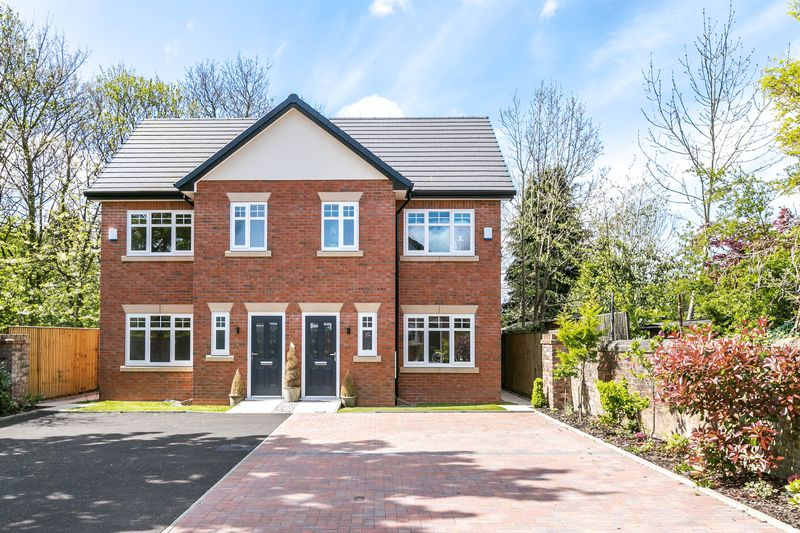 3 Bedrooms Semi Detached House for sale in Gidlow Gardens, Off Gidlow Lane, Wigan, WN6 7PF