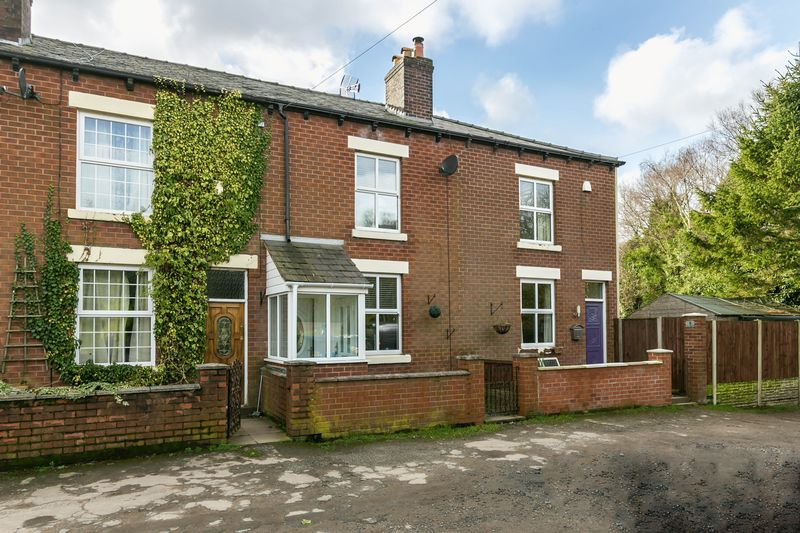 2 Bedrooms Terraced House for sale in Gidlow Houses, Wigan, WN6 8RU