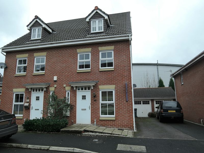 3 Bedrooms Semi Detached House for sale in Edgecote Close, Sharston