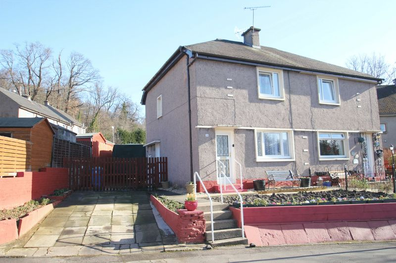 2 Bedrooms Semi Detached House for sale in Woodside Road, Alloa