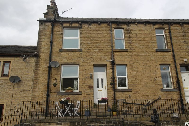 2 Bedrooms Terraced House for sale in (To the rear of) Rochdale Road, Greetland