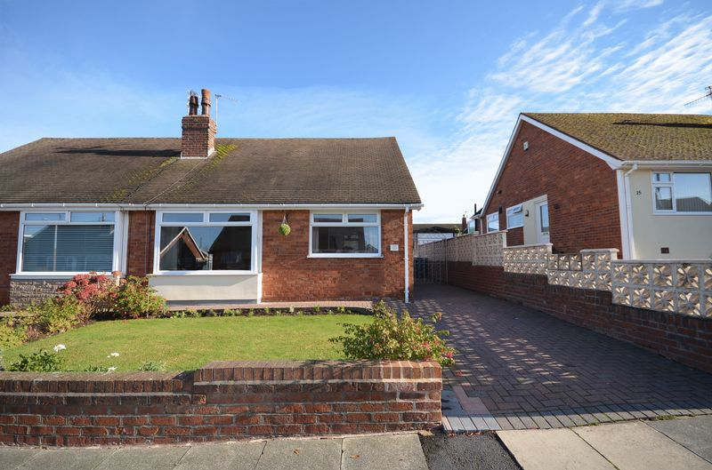 2 Bedrooms Semi Detached Bungalow for sale in 11 Brompton Road, Poulton-Le-Fylde Lancs FY6 8BW