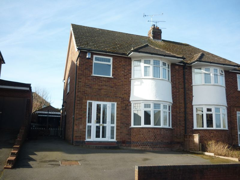 4 Bedrooms Semi Detached House for sale in Worsfold Close, Allesley, Coventry