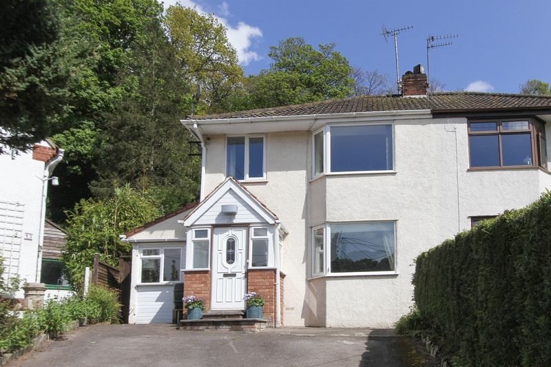 3 Bedrooms Semi Detached House for sale in The Croft, Clevedon
