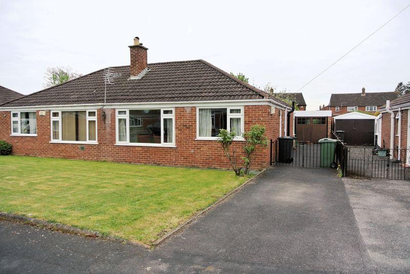2 Bedrooms Semi Detached Bungalow for sale in Flower Way, Gloucester