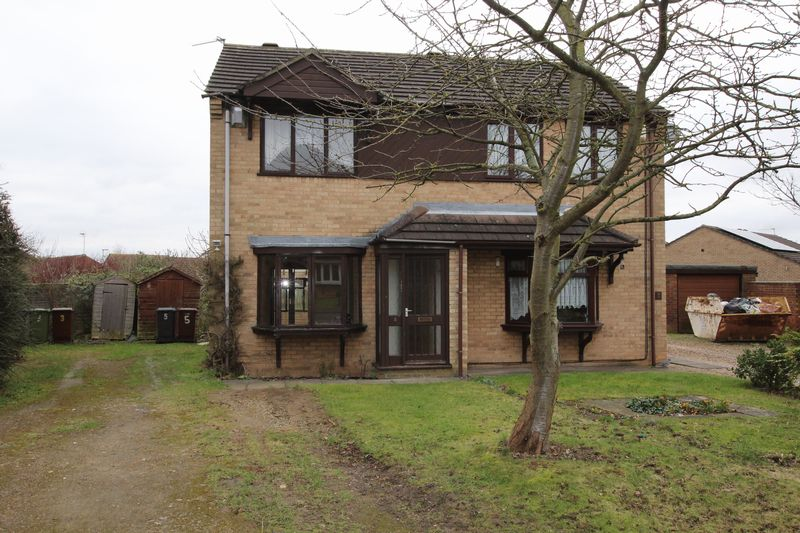 2 Bedrooms Semi Detached House for sale in 5 Chedworth Close, Lincoln