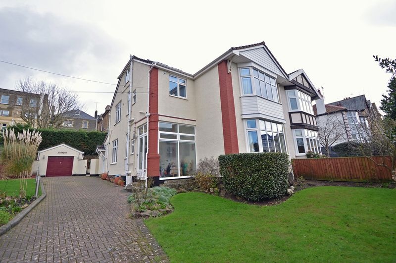 5 Bedrooms Semi Detached House for sale in Just off the popular Hill Road area in Clevedon