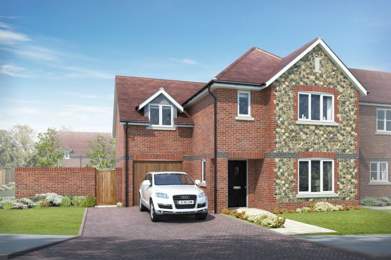 4 Bedrooms Detached House for sale in Sussex Grange, Southbourne