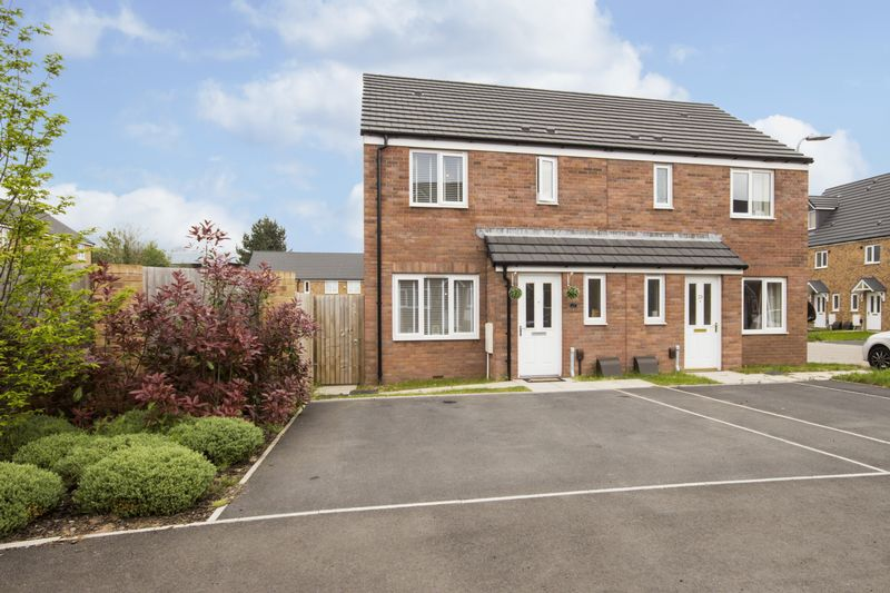 3 Bedrooms Semi Detached House for sale in Cefn Adda Close, Newport