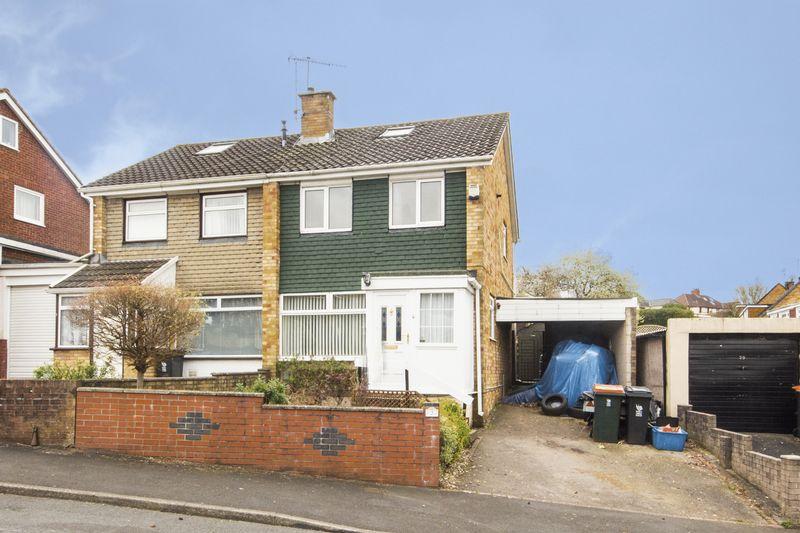 3 Bedrooms Semi Detached House for sale in Laurel Crescent, Newport