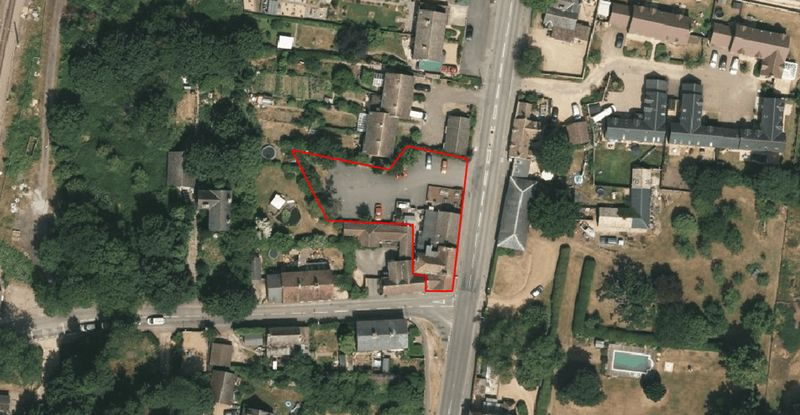Property for sale in High Street, Offord Cluny, St. Neots, Cambridgeshire.