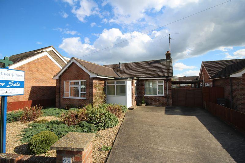 2 Bedrooms Bungalow for sale in Desborough Road, Hartford, Huntingdon, Cambridgeshire.