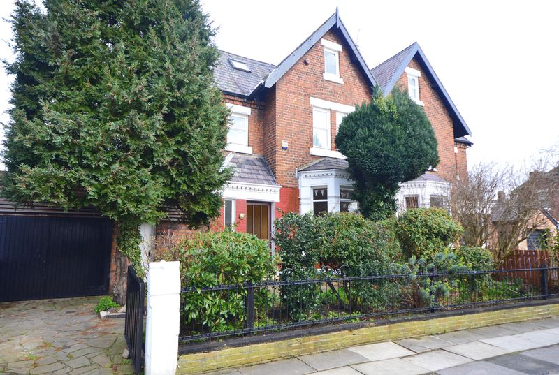 5 Bedrooms Semi Detached House for sale in Heywood Road, Wavertree Gardens