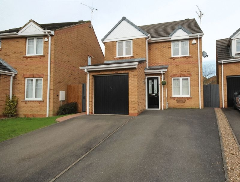 3 Bedrooms Detached House for sale in HALLGATE CLOSE, OAKWOOD