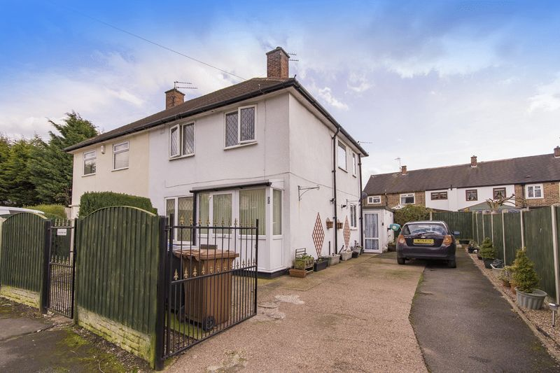 2 Bedrooms Semi Detached House for sale in WINSLOW GREEN, CHADDESDEN