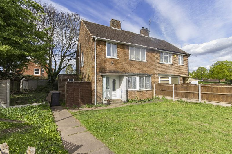 3 Bedrooms Semi Detached House for sale in WOOD ROAD, CHADDESDEN