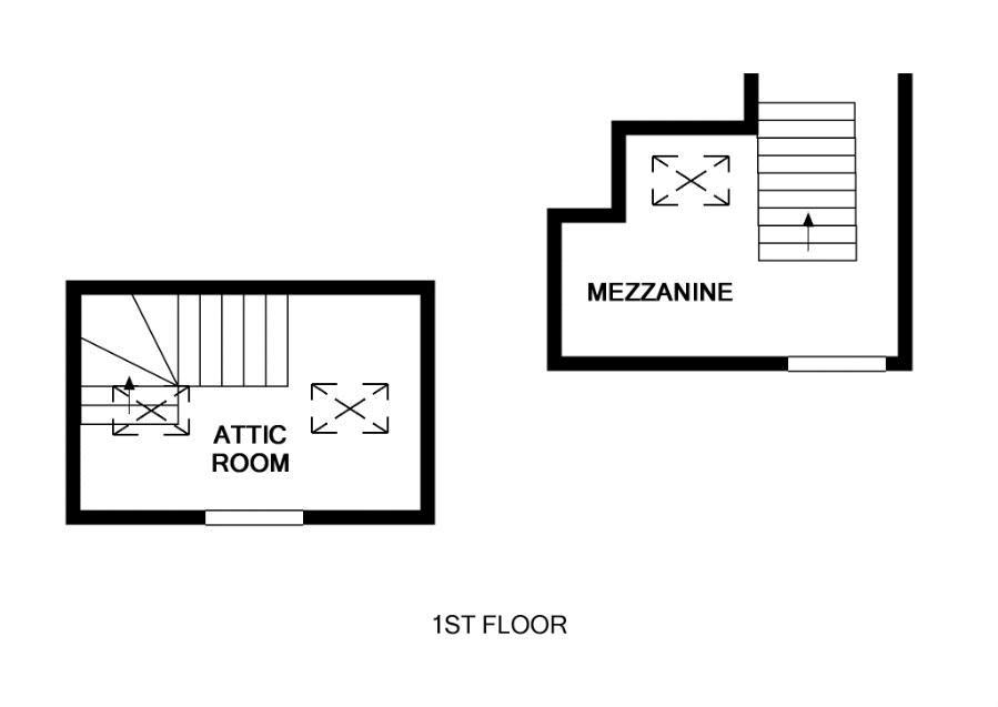 Two Mezzanine Levels